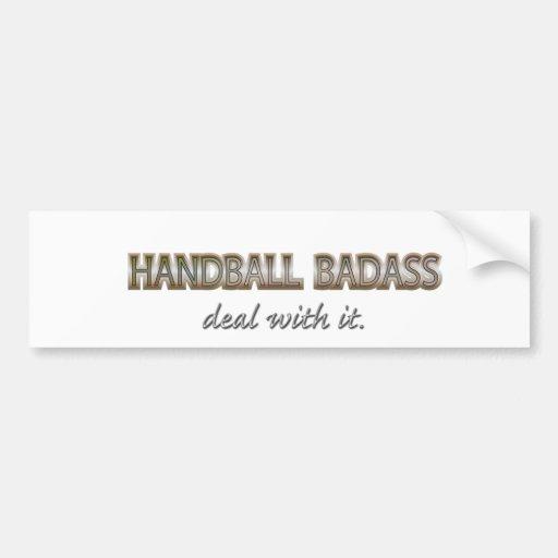 HANDBALL AUTOCOLLANT POUR VOITURE