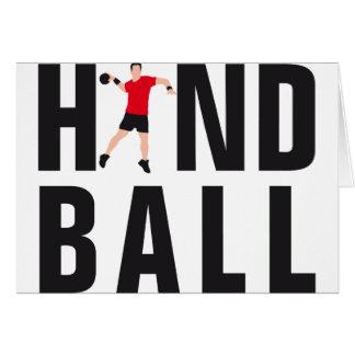 Handball Carte De Vœux