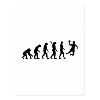Handball d'évolution cartes postales