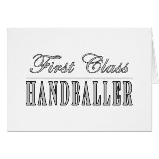 Handball et Handballers : Première classe Cartes De Vœux