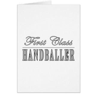 Handball et Handballers : Première classe Handball Cartes De Vœux