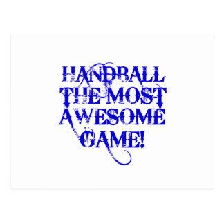 handball la plupart de jeu impressionnant ! carte postale