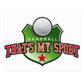 Handball - that's my sport cartes postales