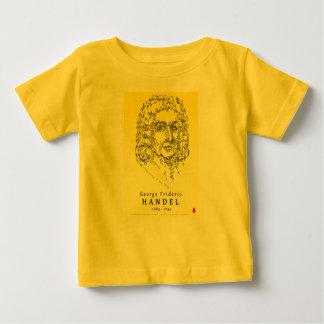 Handel : Faites face à la musique T-shirt Pour Bébé