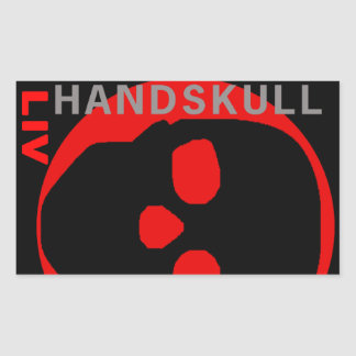 HANDSKULL Liv - autocollant