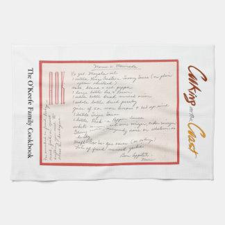 Handwritten Marinade Recipe de maman Linges De Cuisine