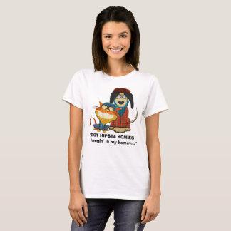 Hangin OBTENU de HIPSTA HOMIES dans mon intime… T-shirt