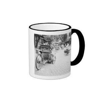 Hanoï Vietnam, cyclo à vieux Hanoï Mugs À Café