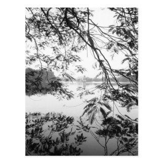 Hanoï vue de Vietnam, lac Hoan Kiem Carte Postale