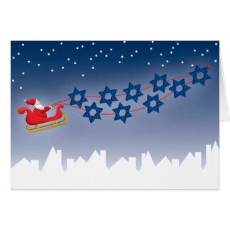 Hanoukka et carte de Noël