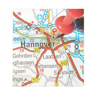 Hanovre, Hannovre, Allemagne Bloc-note