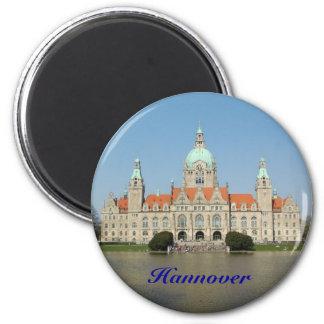 Hanovre Magnet Rond 8 Cm