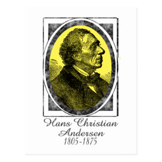 Hans Christian Andersen Carte Postale