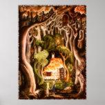 Hansel et Gretel par la copie de Kay Nielsen Affiches