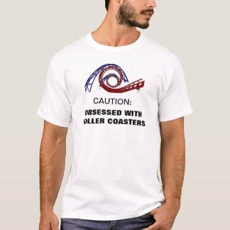 Hanté avec le T-shirt de montagnes russes