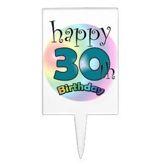 Happy 30th Birthday Pique À Gâteau