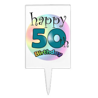 Happy 50th Birthday Pique À Gâteau