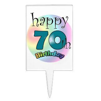 Happy 70th Birthday Piques À Gâteau