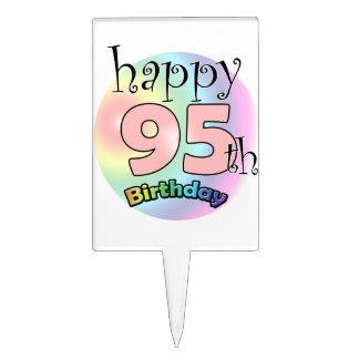 Happy 95th Birthday (rose) Pique À Gâteau