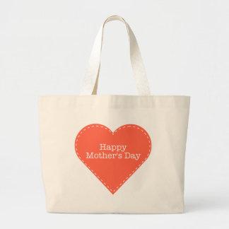 happy mothers day sac en toile jumbo