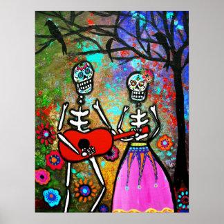 Harana Dia de los Muertos Posters