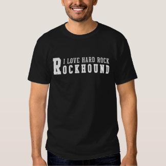 Hard rock d'amour de Rockhound I T-shirts
