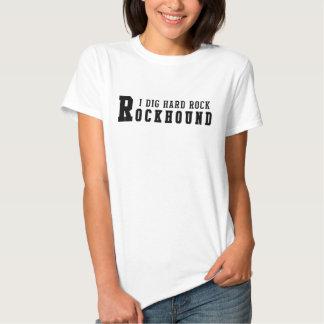 Hard rock de fouille de Rockhound I T-shirts