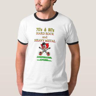 hard rock des années 70 et des années 80/pièce en t-shirt