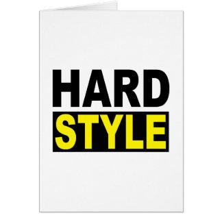 Hardstyle Carte De Vœux