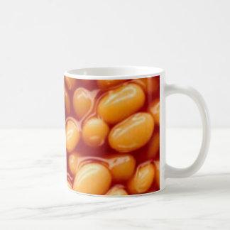 Haricots cuits au four mug