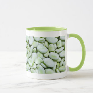 Haricots de fève frais mugs