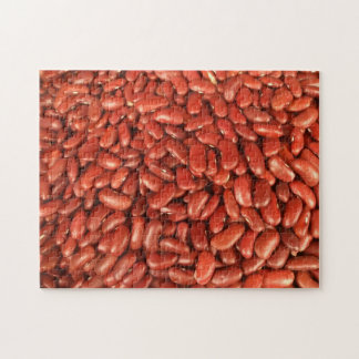 Haricots nains rouges puzzle