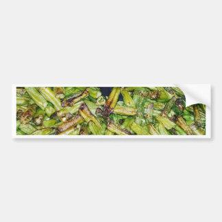 Haricots verts… autocollant de voiture