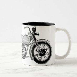 Harley à l'encre vintage mug bicolore