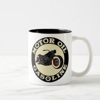 Harley Davidson - Bobber - moteur huile - Gasoline Mug Bicolore