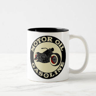 Harley Davidson - Bobber - moteur huile - Gasoline Tasses