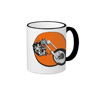 Harley Davidson - Chopper - coeur Custombike Mugs