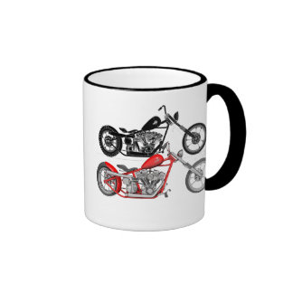 Harley Davidson - Shovelhead Chopper Tasse À Café