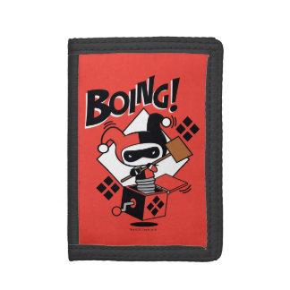 Harley-Quinn-Dans-UN-Box de Chibi avec le marteau