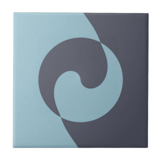 Harmonie bleue carreau