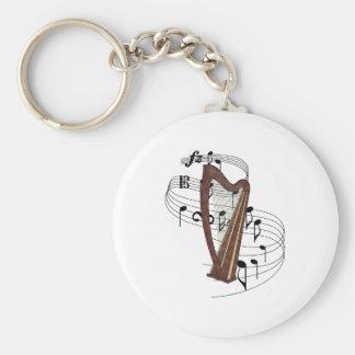 Harpe Porte-clé Rond