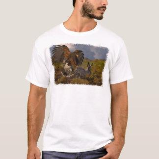 Harris colportent et lièvre - acrylique t-shirt