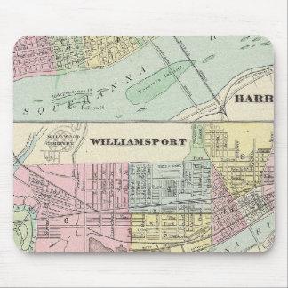 Harrisburg, Williamsport, Erie, Scranton Tapis De Souris