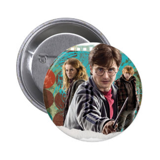 Harry, Hermione, et Ron 1 Badge