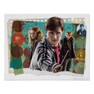 Harry, Hermione, et Ron 1 Posters
