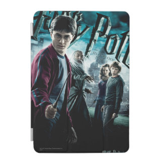 Harry Potter avec Dumbledore Ron et Hermione 1 Protection iPad Mini