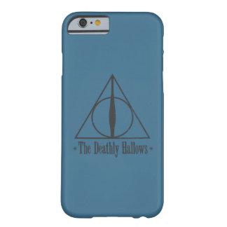Harry Potter | le de mort sanctifie l'emblème Coque Barely There iPhone 6