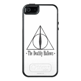 Harry Potter   le de mort sanctifie l'emblème Coque OtterBox iPhone 5, 5s Et SE