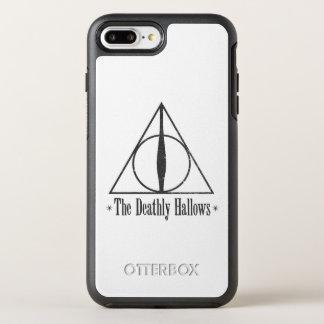 Harry Potter   le de mort sanctifie l'emblème Coque OtterBox Symmetry iPhone 8 Plus/7 Plus
