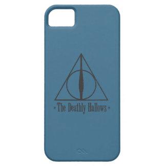 Harry Potter   le de mort sanctifie l'emblème Étuis iPhone 5